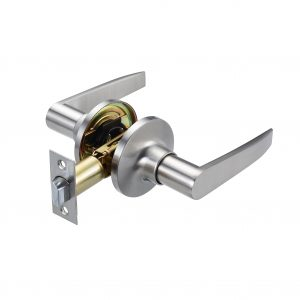 Discount Door Hardware Satin Nickel Passage Lever