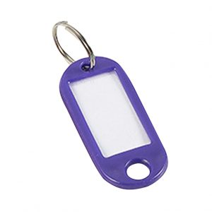 Discount Door Hardware Plastic Key Tag