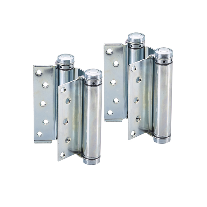 Bommer 3029 6 603 Double Acting Spring Hinges – Dull Zinc (Set of 2)
