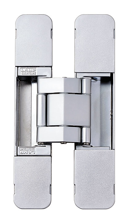 Sugatsune HES3D-E190 DC Heavy-Duty Concealed Hinges – Dull Chrome (Set of 2)