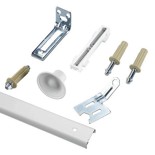 "Single Bifold Door Kit – Track & Hardware – 36"" Length"