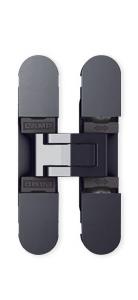 Sugatsune HES3D-70 BL Light-Duty Concealed Hinges – Matte Black (Set of 2)