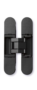Sugatsune HES3D-90 BL Light-Duty Concealed Hinges – Matte Black (Set of 2)