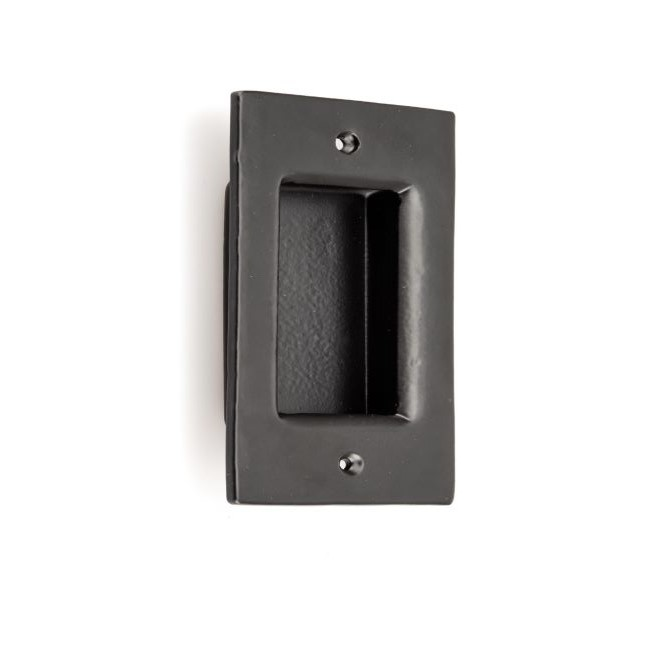 Traditional Recessed Forged Iron Pull – 9549