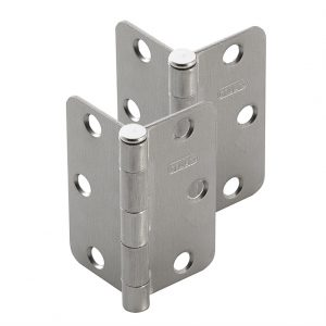 Discount Door Hardware Satin Nickel Radius Hinges