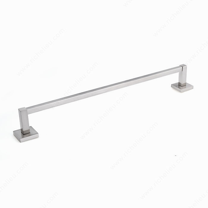 """Nystrom Towel Bar – Palisades Collection – 17 1/2"""" C/C – Brushed Nickel"""