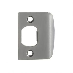 Discount Door Hardware Antique Nickel Strike Plate