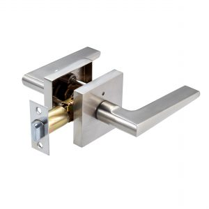 Discount Door Hardware Satin Chrome Privacy Lever