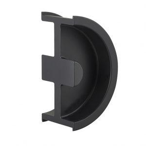 Discount Door Hardware Satin Black Sliding Door Handle